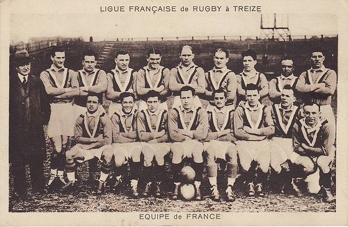 Rugby-Pioneers: 1934-2009 : Rugby League in France is 75 years old This Day in History: Mar 27, 1871: The first international Rugby football game http://dingeengoete.blogspot.com/