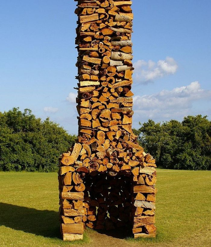 The Artful Woodpile 30 Fabulous Firewood Storage Ideas: 1000+ Images About Wood Pile Art On Pinterest