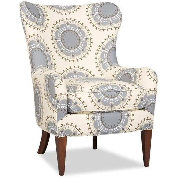 Sam Moore Living Room Nikko Wing Chair ❤ liked on Polyvore featuring home, furniture, chairs, accent chairs and nikko