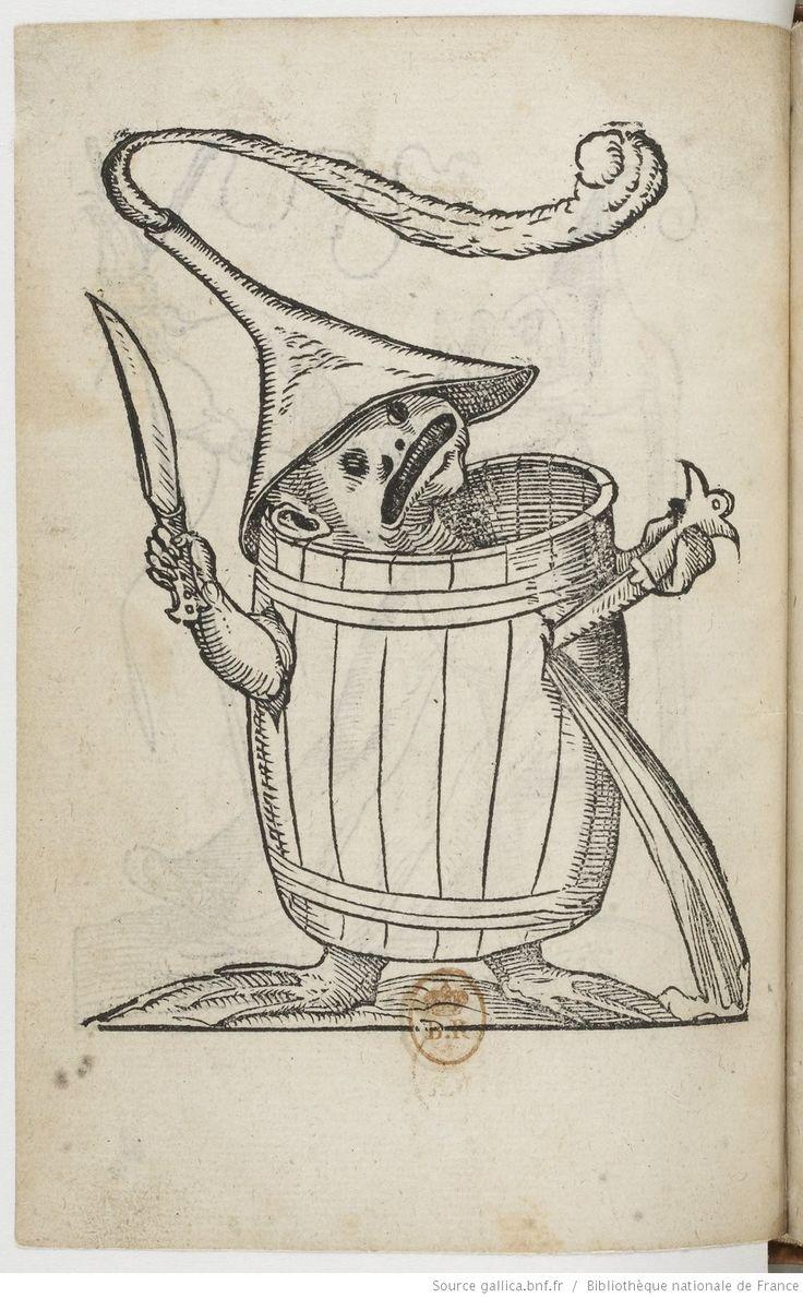 Les songes drolatiques de Pantagruel / où sont contenues plusieurs figures de l'invention de maistre François Rabelais, et dernière oeuvre d'iceluy pour la récréation des bons esprits | Gallica