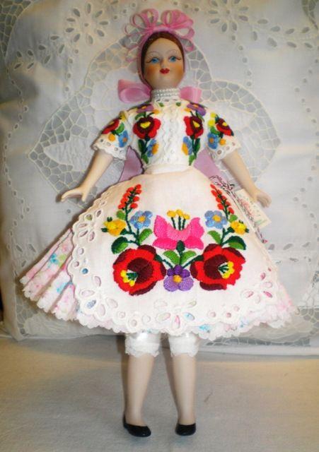 China doll from Kalocsa.
