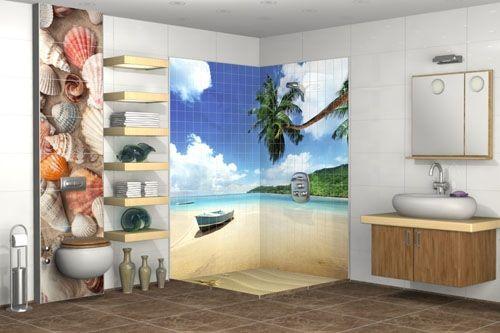 Banyo 3D Cam Mozaik  BNY  2791 -2