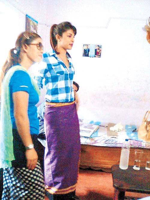 Mary Kom and Priyanka Chopra #Bollywood #Fashion