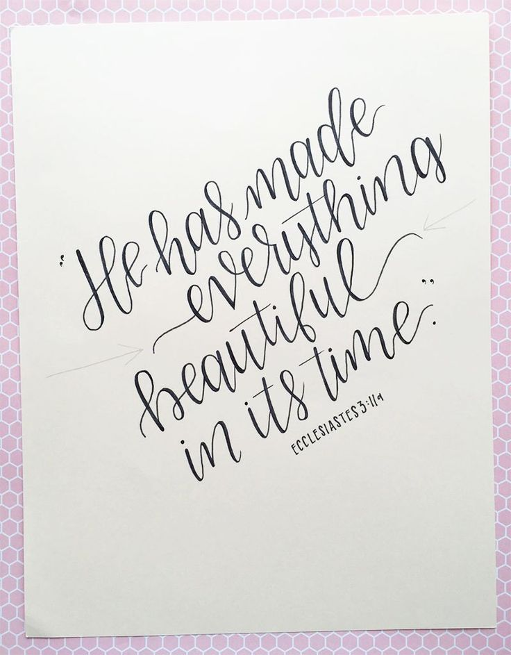Best modern calligraphy tutorial ideas on pinterest