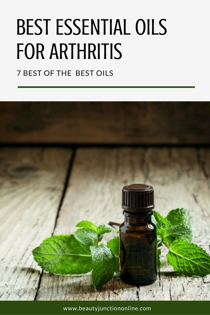 Discover the best essential oils for arthritis!