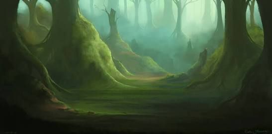 Image result for fantasy forest art