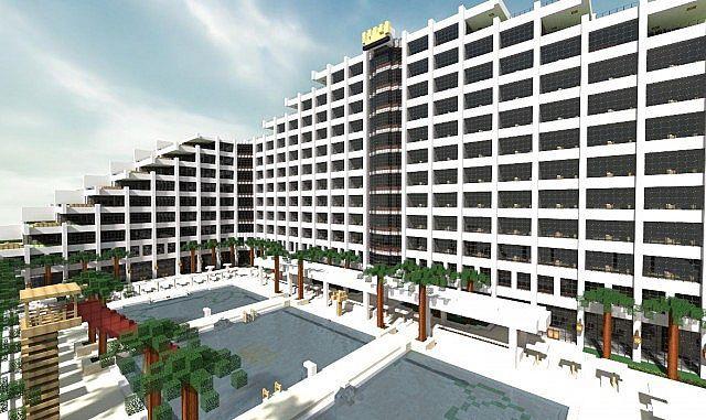 Hotel Minecraft World Save
