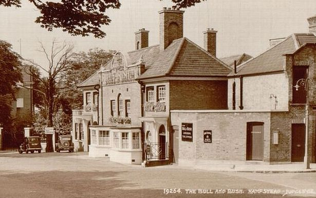The Old Bull & Bush pub. Did you know it's one of the oldest pubs in London & is still operating today?