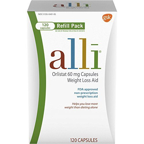 Herbs for weight loss alli Diet Pills for Weight Loss, Orlistat 60 mg Capsules, Refill Pack 120 count