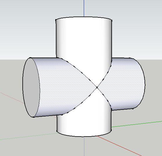 cylinder and cone intersection - Поиск в Google