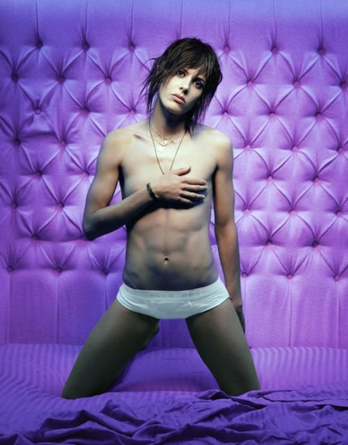 Well, Shane, I can't resist the amazing-omfg-im-jealous abs.