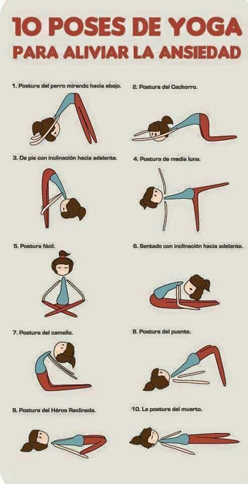 10 poses de yoga para aliviar la ansiedad