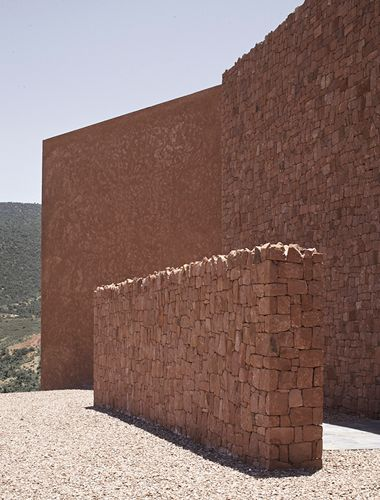 Villa E Foothills House in Morocco by Studio Ko  Karl Fournier   Olivier  Marty2028 best Finishing Material Pattern Surface images on Pinterest  . Exterior Wall Finishing Materials. Home Design Ideas