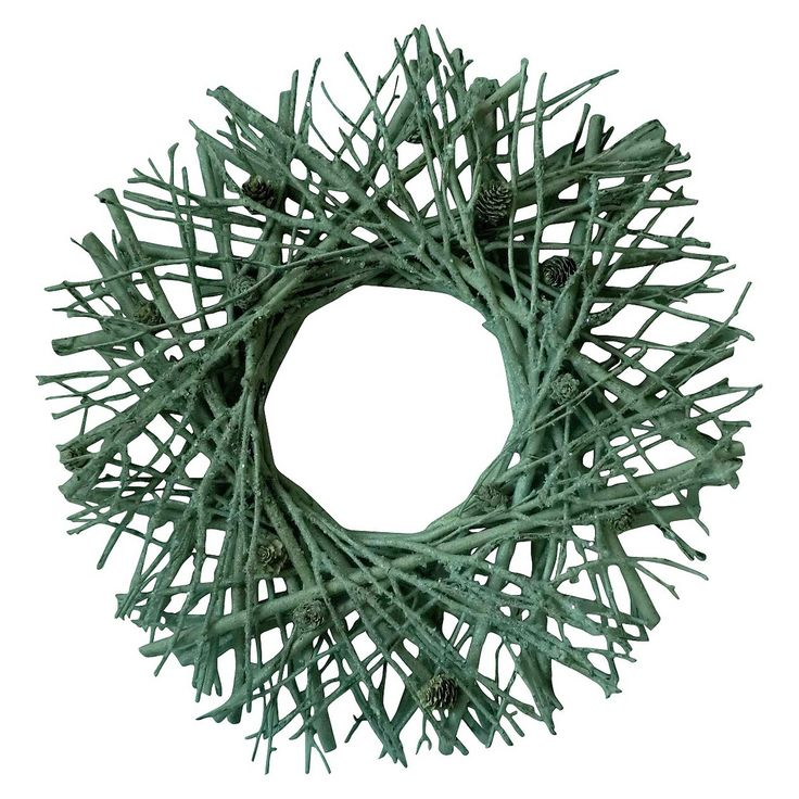 Smith U0026 Hawkin Twig Wreath