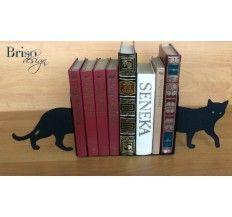 """Podpórki do książek """"Kot"""""""