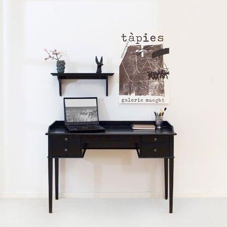 Oliver Furniture Skrivbord / svart