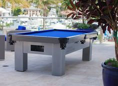 Ever wished you could enjoy your pool table while you're out on the patio? Enter the Orion Outdoor pool table! http://www.BilliardFactory.com/Orion-Outdoor-Pool-Table