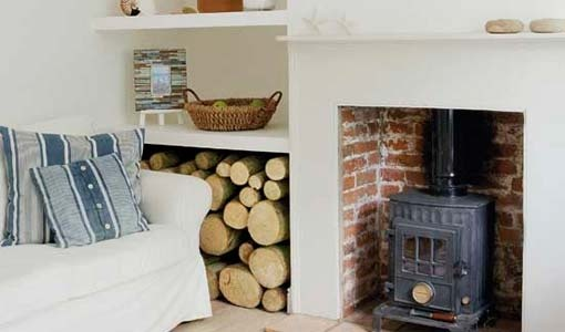 I really want a woodburning stove - but so expensive to install....need to find a job first!