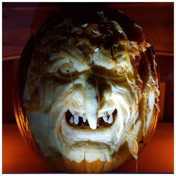 Halloween pumpin carving 2015