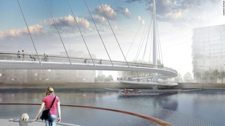 Londýn, Veľká Británia: Nine Elms Bridge (vo výstavbe)