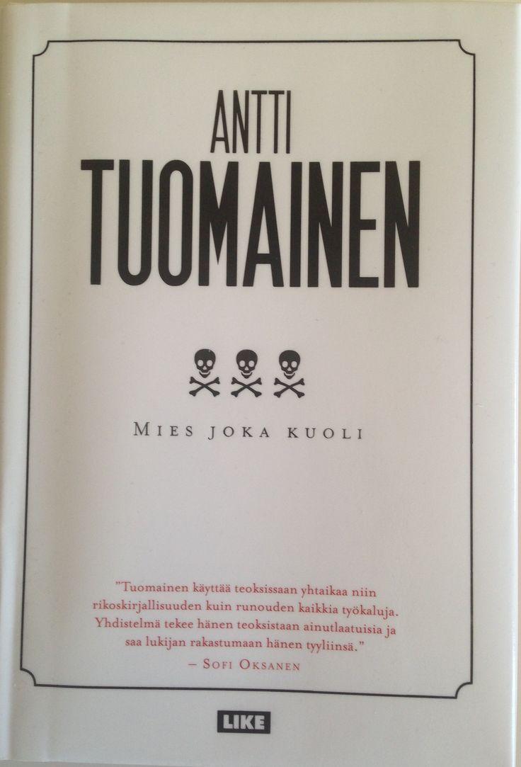 Kohta 45 (Suomalaisesta miehestä kertova kirja) Tähän kohtaan minulla oli useita vaihtoehtoja, mutta tämä uutuus kiilasi ohi. Onneksi. Huipputarina, upeaa kieltä, tapahtuu Haminassa. Luen ehdottomasti lisää Tuomaista. 11/16