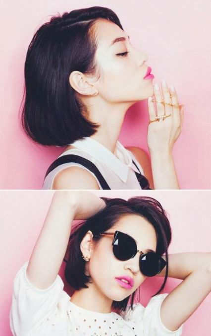 Kiko Mizuhara - simple and sweet chick