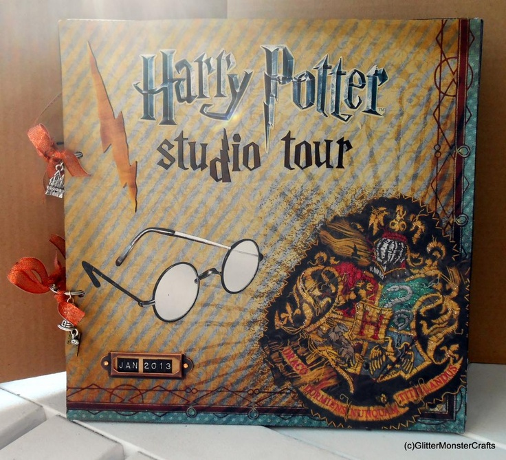 harry potter mini album: Potter Studios, Harry Potter Scrapbook, Minis Dog Qu, Minis Album, Potter Minis, Studios Tours, Mini Albums, Tours Minis, Scrapbook Album