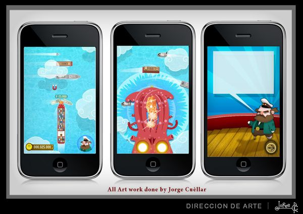 FULL STEAM  / iphone game by Jorge Cuellar, via Behance