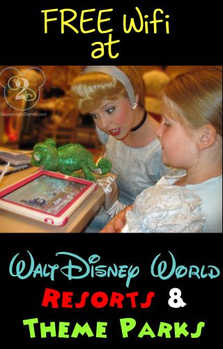 Walt Disney World is now offering FREE WiFi service at Walt Disney World Resorts and Theme Parks.