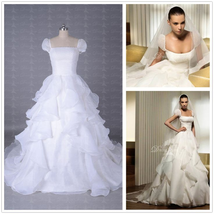 Short Corset Wedding Dress