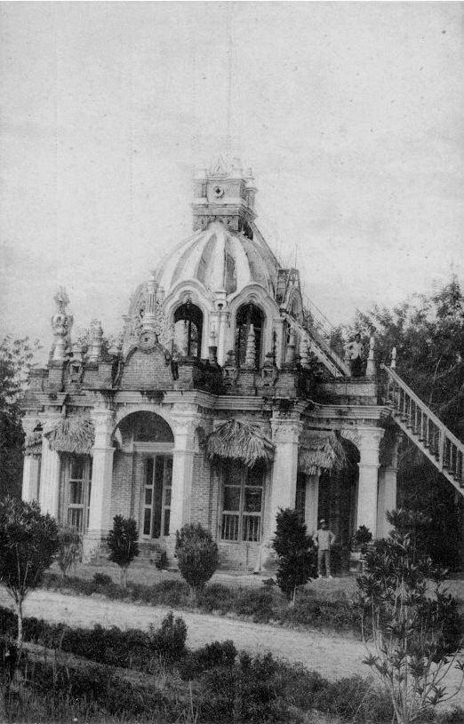 1908-1940 Mausoleum in the garden of the Palace of His Highness the 'Sultan of Serdang', Postcard