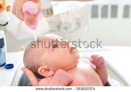 baby bathe photo sale