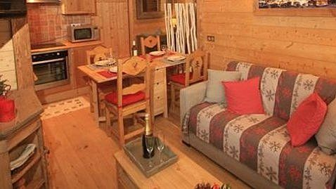 Verdets Apartment, Val d'Isere Centre living-room