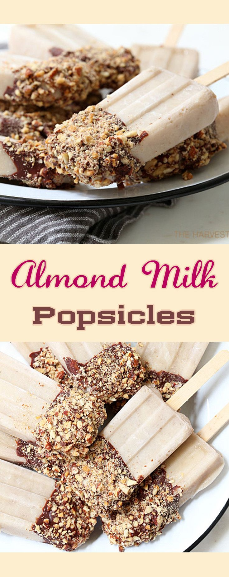 Almond Milk Popsicles