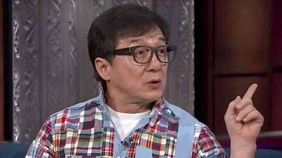 Jackie Chan wants a chance to show off his musical as well as his fighting talents
