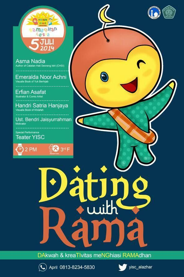 Dating with Rama, 5 Juli 2014 di fX Sudirman @fxsudirman