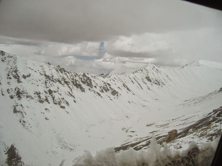 Visiting the Himalayas.