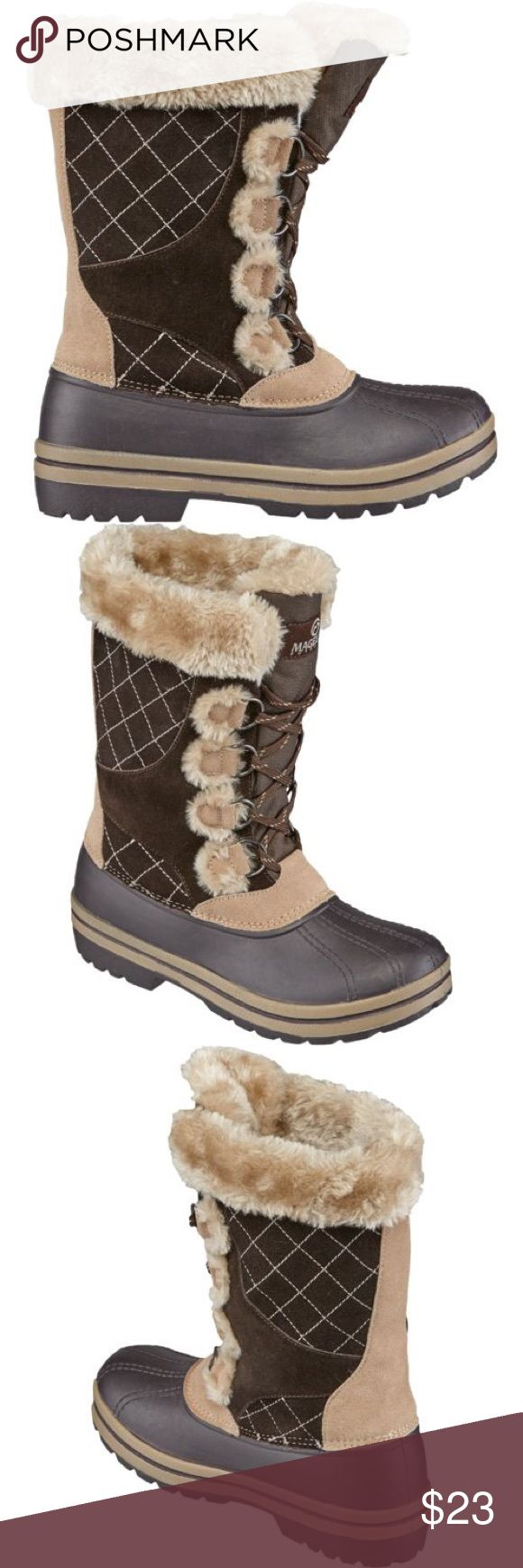 NWT WOMENS DUCK BOOTS NEW with tag women's duck boots. Size 7. Very warm and comfy. Shoes Winter & Rain Boots