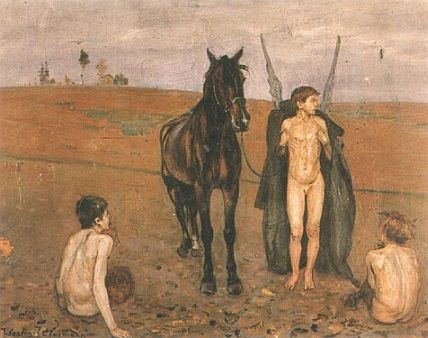 Vlastimil Hofman - Powrót, 1918