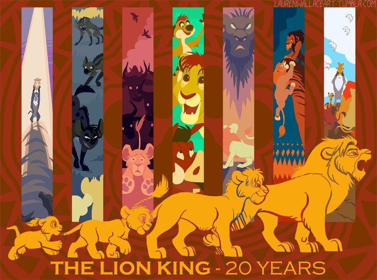 The Lion King 20th Anniversary by GrowlyLobita.deviantart.com on @DeviantArt