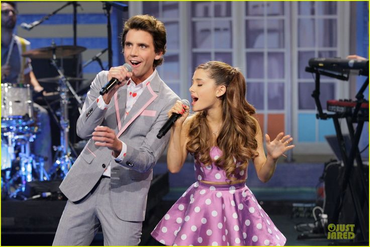 Ariana Grande & Mika perform 'Popular Song' on The Tonight Show with Jay Leno last night! Watch video on JustJared.com!
