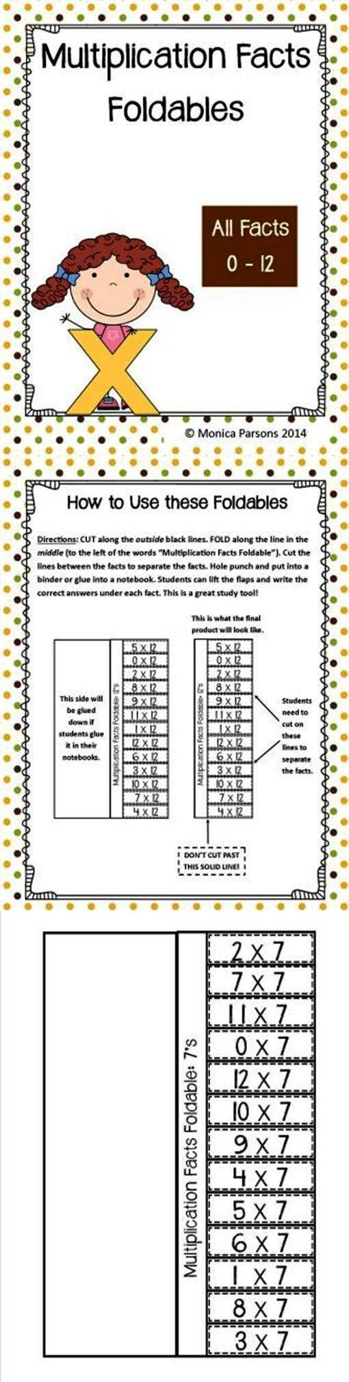 Multiplication facts 0 12 games 1000 images about for 1 to 12 times table games