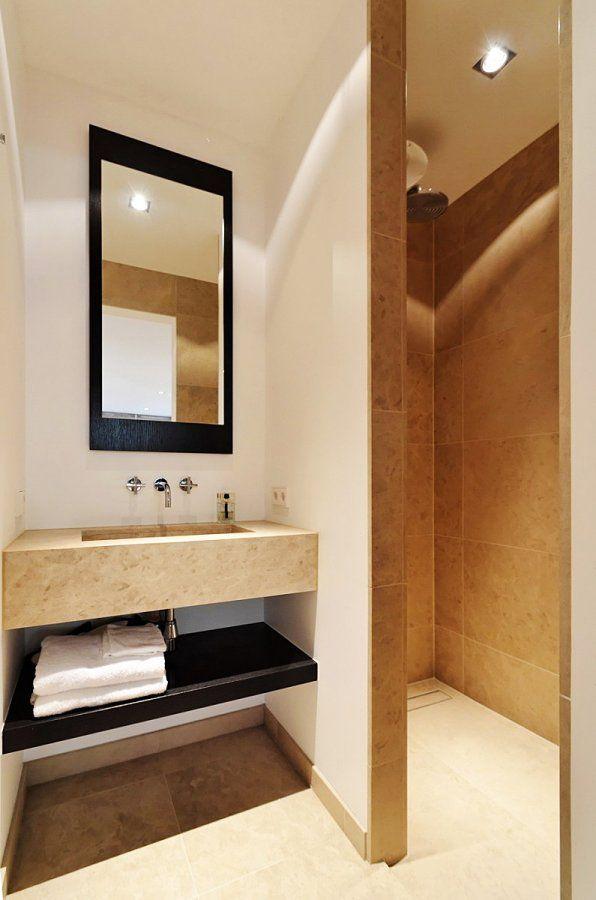 25 beste idee n over beige badkamer op pinterest beige kleuren verf huis verfkleuren en - Witte steen leroy merlin ...