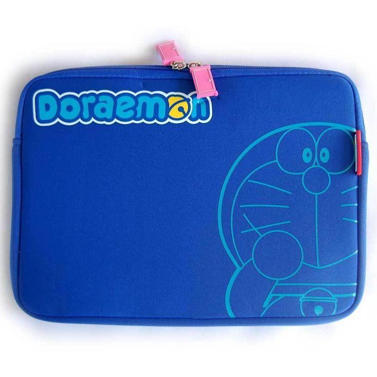 "Doraemon Sleeve notebook  10"" case pouch tablet iPad 1 2 3 4 air mini samsung #Heroesunited"
