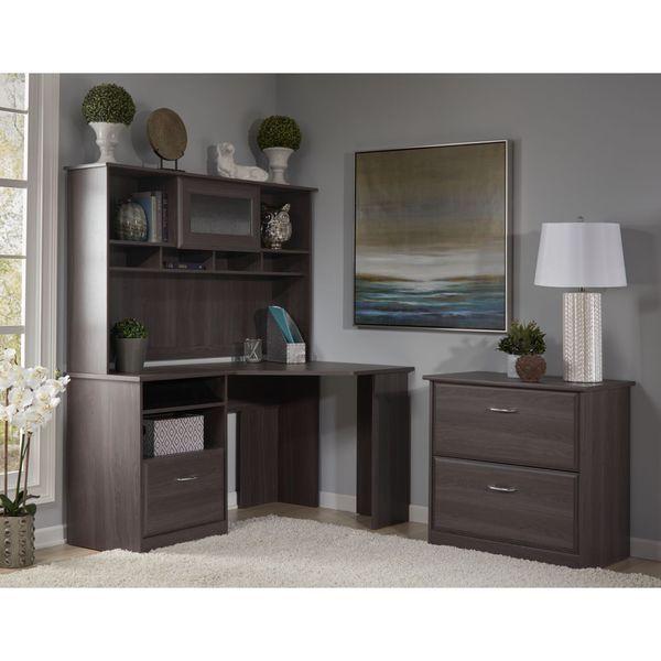 17 best ideas about corner desk with hutch on pinterest hidden desk secretary desk with hutch - Corner desks small spaces collection ...