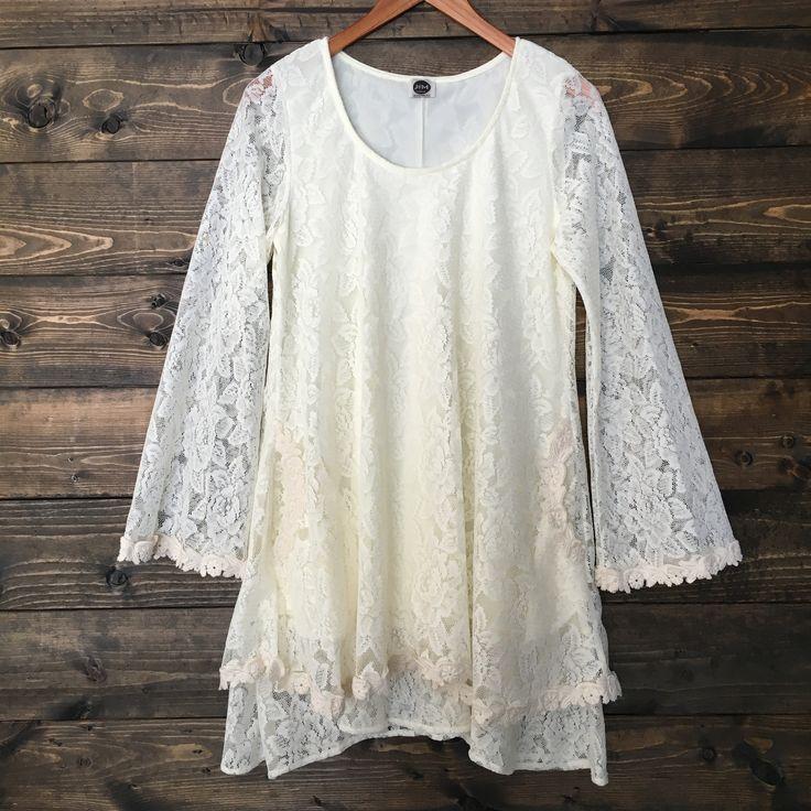 Bella Boho Lace Dress