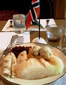 Lutefisk - Norwegian tradition