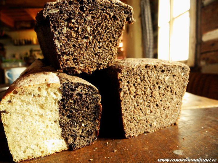 Různé chleby na snídani