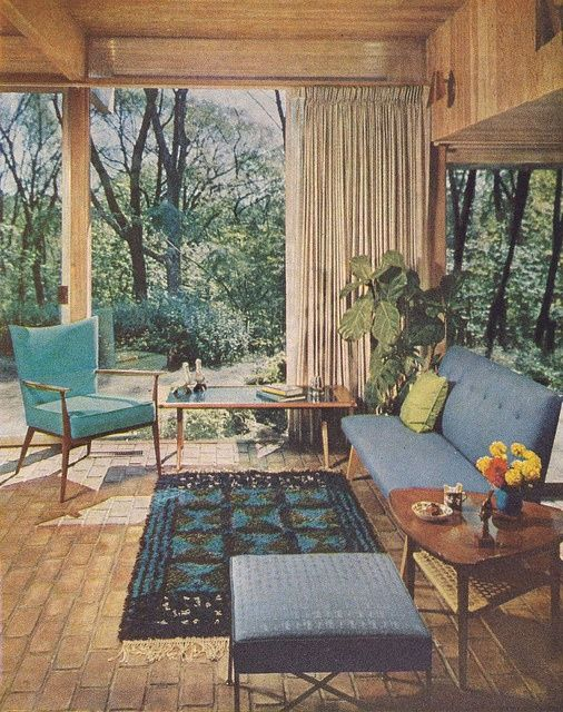 Better Homes & Gardens Decorating Book, 1961 we have that teal in our 1967 bathr...