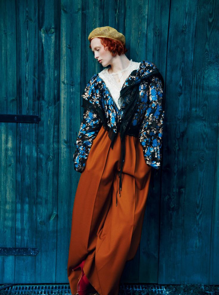 "Duchess Dior: ""Last Night I Dreamed I Went to Manderley Again"" Karen Elson by Erik Madigan Heck for Harper's Bazaar UK July 2016"
